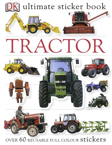 Tractor Ultimate Sticker Book (Ultimate Stickers) por DK