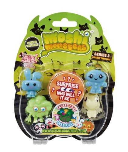 Moshi Monsters Halloween Sammler Series 2