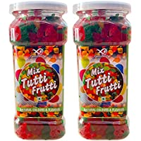 GreenFinity® Mix Trutti Frutti - 350g | Chery | Candy for Cakes, Icecream, Multicolor - Free Shipping