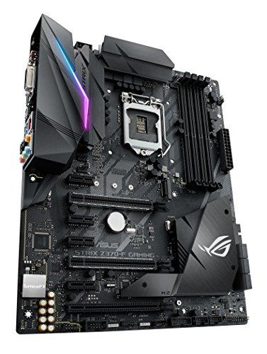 ASUS ROG Strix Z370 F Gaming Mainboard Sockel 1151 ATX Intel Z370 Coffeelake 4x DDR4 Speicher USB 31 M2 Schnittstelle Mainboards