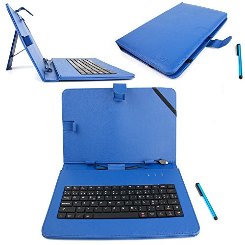 DURAGADGET Funda / Teclado QWERTY ESPAÑOL Azul Para Asus ZenPad 10 (Z3000CG)...