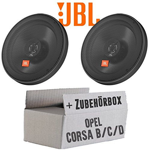 Opel Corsa B/C/D - JBL Stage 602E | 2-Wege | 16cm Koax Lautsprecher - Einbauset