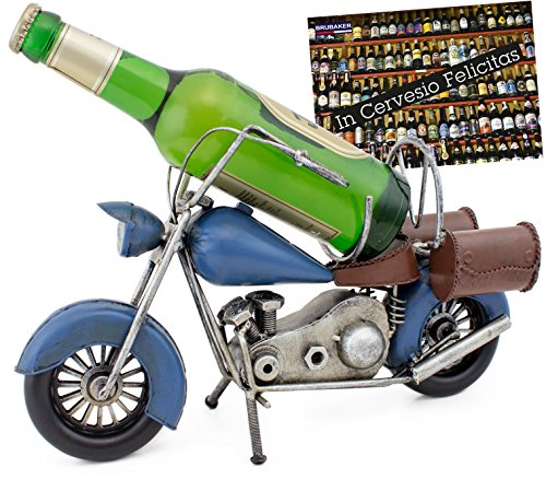 Brubaker–Soporte Botellas Cerveza Vintage Motocicleta