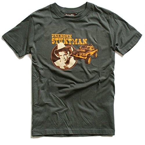 Baretta T-Shirt COLT, grey 80er TV Serie, unknown Stuntman, M