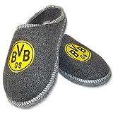 Filz Pantoffel '' Logo '' BVB Borussia Dortmund Gr. 38/39