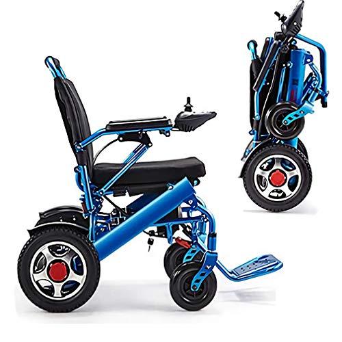 Cadeira de rodas Qwhome cadeira de rodas elétrica dobrável Ultraleve: pesa apenas 25 kg