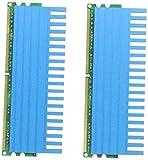 Komputerbay 4GB (2x2GB) DDR2 DIMM (240 Pin) 800MHZ PC2-6400 PC2-6300 4 GB KIT mit Crown Series Heatspreader für zusätzliche Kühlung CL 5-5-5-18