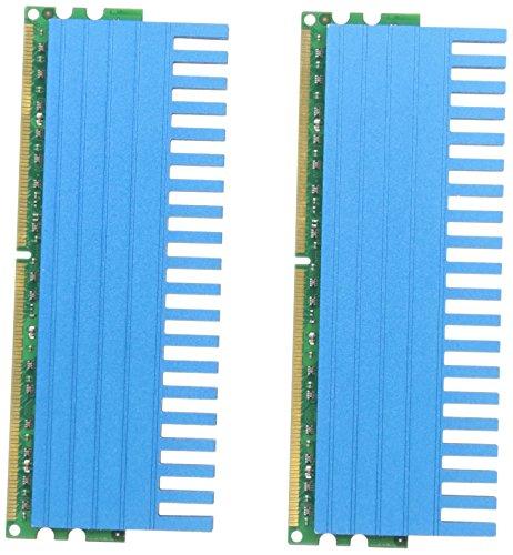 Komputerbay 4GB (2x2GB) DDR2 DIMM (240 Pin) 800MHZ PC2-6400 PC2-6300 4 GB KIT mit Crown Series Heatspreader für zusätzliche Kühlung CL 5-5-5-18 -