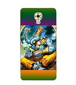 iFasho Designer Back Case Cover for Gionee M6 Plus (Ganesh St Petersburg Spiritual Tshirts Pudukkottai)