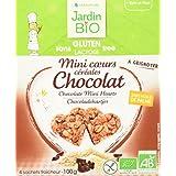 Jardin Bio Mini Cœurs Céréales Chocolat sans Gluten 100 g - Lot de 4