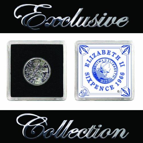Genuine 1966Regina Elisabetta II Sixpence e collezionisti di
