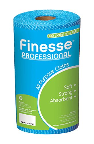 finesse-blue-professional-all-purpose-cloths-on-a-roll-pack-of-100