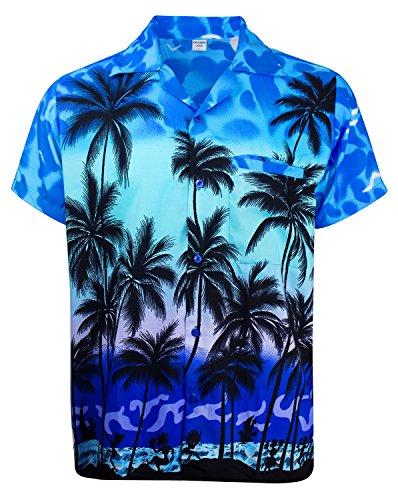 V.H.O. Funky Hawaiihemd, Kurzarm, Beach, MONOBLAU New, ()