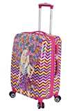 #10: Disney Barbie 56 cm ABS Hard Sided Kids Checkin Luggage - Trolley/Travel/Tourist Bags (Humpy Dumpty), Pink Multi