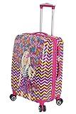 #3: Disney Barbie 56 cm ABS Hard Sided Kids Checkin Luggage - Trolley/Travel/Tourist Bags (Humpy Dumpty), Pink Multi
