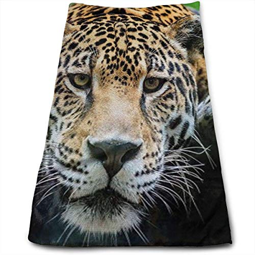 American Salon Spa (Wolanim South American Jaguar Personality Funny Washcloth Towels 27.5