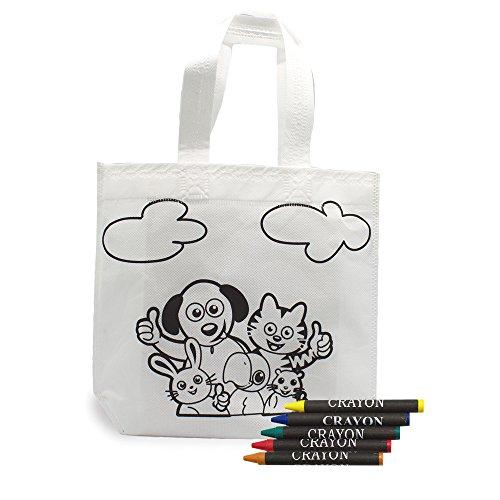 Fun Fan Line® - Lote 30 Bolsas Colorear Ideal Regalos