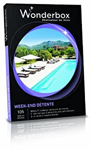 WONDERBOX - Coffret cadeau - WEEK-END DETENTE