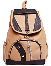 [Sponsored]Hbos Traders Girl's Backpack Handbag (Cream,Bag 40)