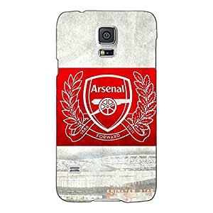 Jugaaduu Arsenal Alexis Sanchez Back Cover Case For Samsung Galaxy S5