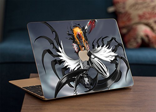 Gadgets WRAP Apple MacBook Air 11 inch Printed Bleach for Android Bleach Skin for Top Only