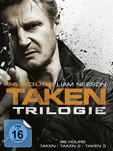 96 Hours - Taken Trilogie [3 DVDs] - 96
