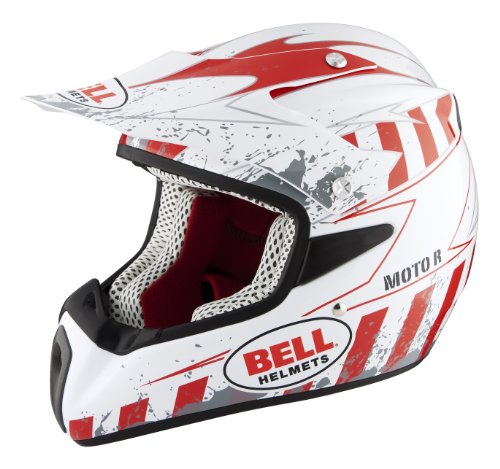 Bell a685fm5blsrr-l cascos de motocross moto R tira