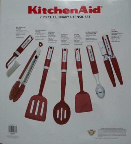 KitechAid 7 Piece Culinary Utensil Set 7