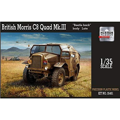 British Morris C8 Quad Mk.III