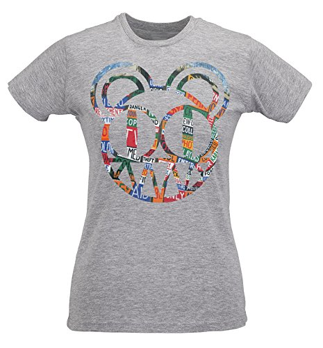 T-shirt Donna Slim Radiohead Hail To The Thief - Maglietta 100% cotone ring spun LaMAGLIERIA Grigio