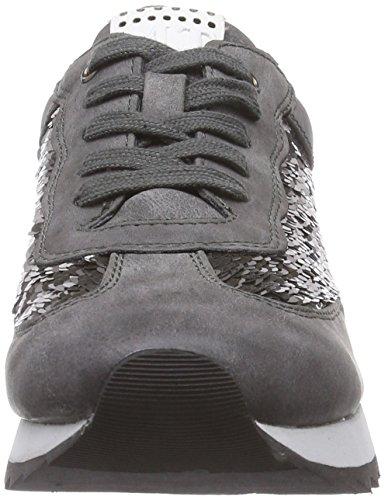 Marco Tozzi 23702, Baskets Basses Femme Gris (grey Antic Com 202)