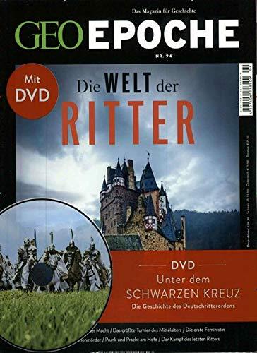GEO Epoche / GEO Epoche mit DVD 94/2018 - Die Welt der Ritter: DVD: Unter dem schwarzen Kreuz