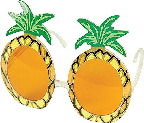 Erwachsene Hawaii Weihnachtsfeier Zubehör Mehrfarbig Giant Ananas Brillen