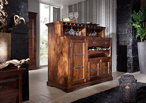 Kolonialmöbel Bar Akazie Holz massiv OXFORD #903