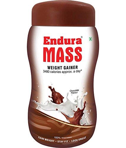 Endura Mass Weight Gainer - 1 kg (Chocolate)