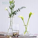 Note. Miz 1 Piece Vase Decoration Home Glass Vase Home Decoration Accessories Modern Vases for Flowers Wedding Decoration