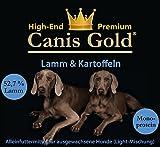 Canis Gold 10 kg Adult 59% Lamm & Kartoffeln (Monoprotein) getreidefreies Super Premium Trockenfutter | aus Frischen Fleisch herstellt