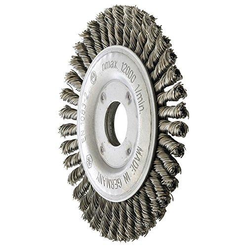 Forum brosse ronde en acier 115 x 6 mm - 4317784891035 nouée