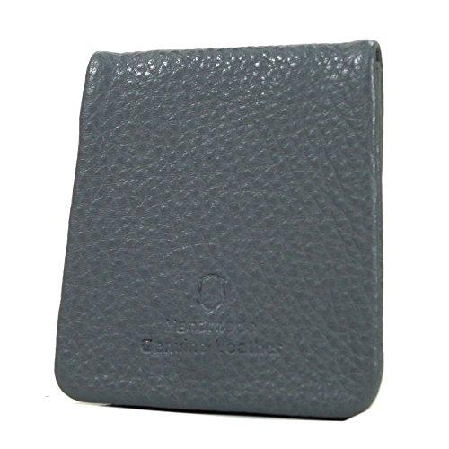 Chiemsee Little portafoglio - portamonete pelle 8 cm darkgrey darkgrey