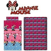 Disney - Juego Sábanas Minnie Mouse, para cama 90 cms.
