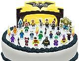 Vorgeschnittene und Essbare Lego Batman Movie Szene Kuchen Topper (Tortenaufleger, Bedruckte Oblaten, Oblatenaufleger)