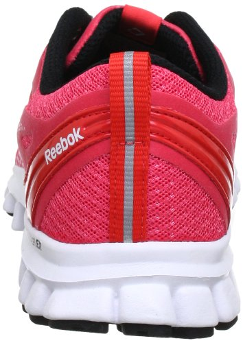 Reebok REALFLEX SPEED J96470 Damen Laufschuhe Mehrfarbig (CORAL CONTRAST/GERANIUM/TIN GREY/WHITE/BLACK)