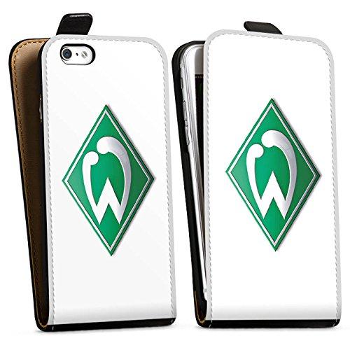 Apple iPhone 6s Silikon Hülle Case Schutzhülle Werder Bremen Fanartikel fußball Downflip Tasche schwarz