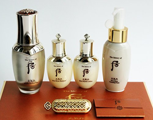 The History of Whoo Cheongidan Hwahyun Double Radiant Base Special Limited Edition Gift Set, 2016 New
