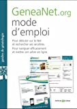 GeneaNet.org, mode d'emploi