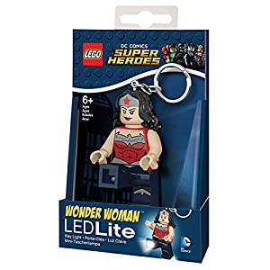Super Heroes Portachiavi LEGO Lights DC Superheroes Wonder Woman 12 spesavip