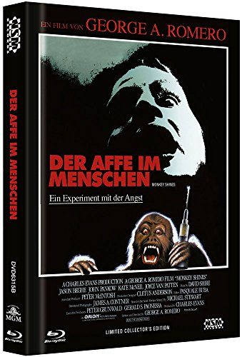 Der Affe im Menschen - uncut (Blu-Ray+DVD) auf 444 limitiertes Mediabook Cover B [Limited Collector's Edition] 8 Gore-cover