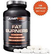 Jumpfire Nutrition Fat Burner - Diet Pills - Weight Loss Pills That Work Fast for Men and Women ★ Maximum Strength Slimming Pills ★ Appetite Suppressant for Weight Loss ★ 2 Month Supply