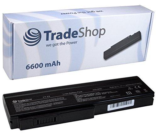 Hochleistungs Laptop Notebook AKKU 6600mAh für Asus M70Sa M70Sr X55 X-55 X55Sa X55Sr X55Sv X57VN X55Q X57 X-57 X57SR X57VC G50 G-50 G50VT G50E G50T G51 G-51 G51J G51J-A1 G51J-3D G51Jx-A1 G51Jx-X1 -