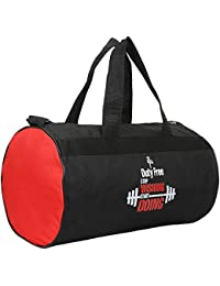 Duty Free Men and Women Polyester Duffle/Gym Bag (Multicolor, 20 L)